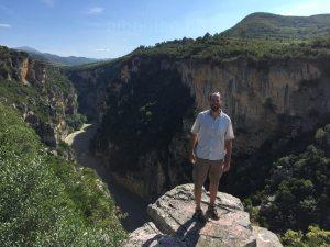 Osum-Canyon, Skrapar, Albanien