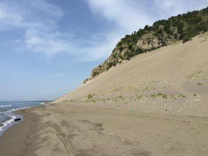 Sanddüne »Rana e hedhur«, Albanien