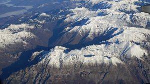 Albanische Alpen: Gashi-Tal links und Shkëlzen rechts