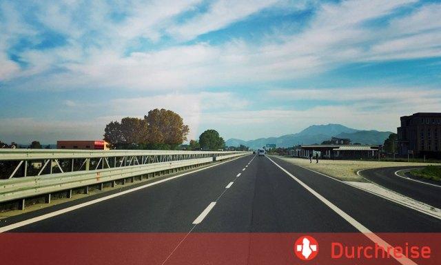 Durchreise Albanien