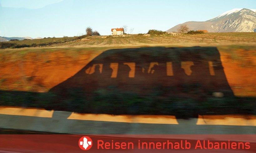 ÖV, Zug und Bus in Albanien
