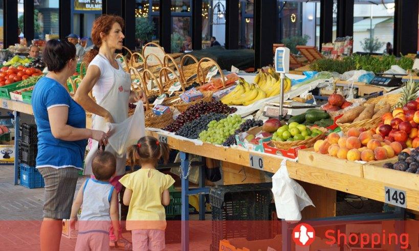 Einkaufen in Albanien
