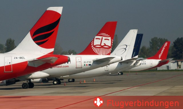 Flugverbindungen nach Albanien