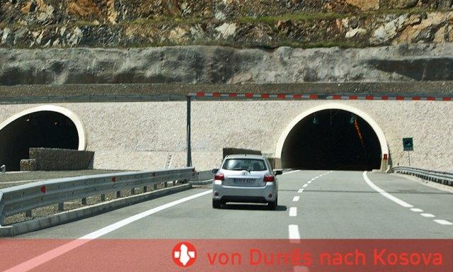 Durchreise Albanien von Durrës nach Kosova