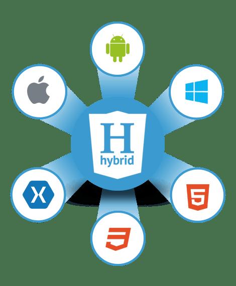hybrid app development Albanny Technologies - Web Design and Digital Marketing company