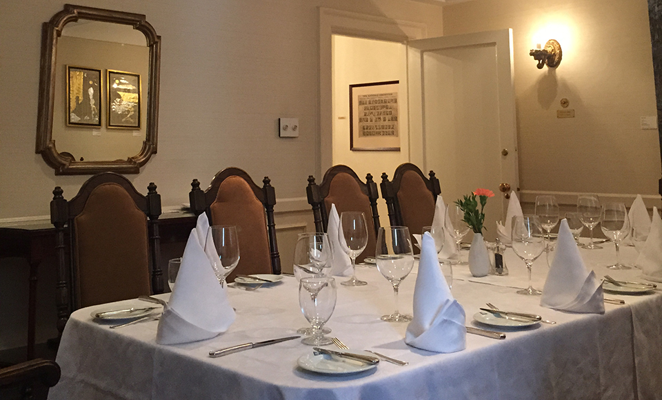 Albany Club Cabinet Room