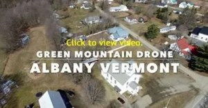 Albany, VT aerial fly-over courtesy of Green Mountain Drone - Cabot, VT