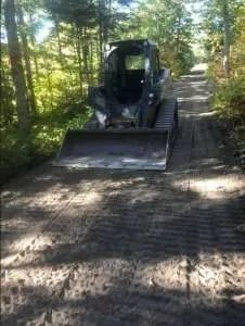 Davio Transport - driveway repair - Albany, VT