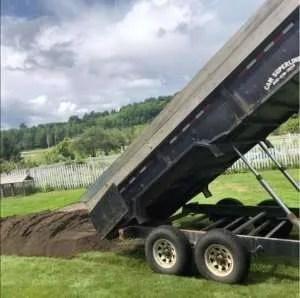 Davio Transport - dump trailer - Albany, VT
