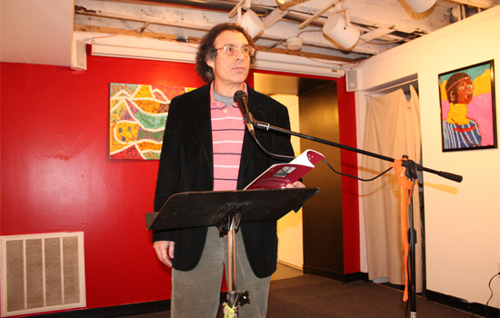 Poets Speak Loud on a Special Night Featuring Anthony Bernini