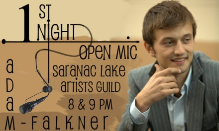 First Night in Saranac Lake with Adam Falkner