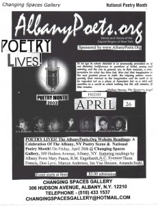 Albany Poets Website Reading 2002