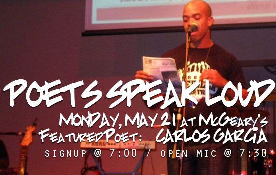 Carlos Garcia – May 2012 Featured Poet