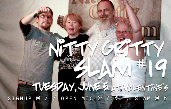 Nitty Gritty Slam #19
