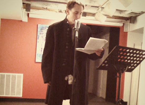 Saint Poem: Coffee, Cigarettes & An Old School Open Mic For Poets On Lark
