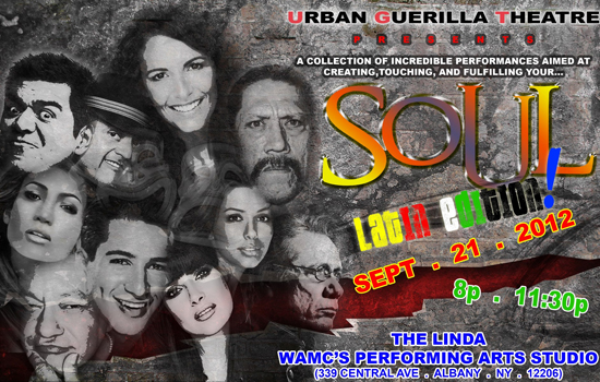 "Urban Guerilla Theatre Presents ""SOUL: The Latin Edition"" Featuring Caridad De La Luz"