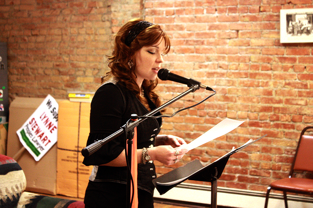 Chronogram Open Word Reading Series Featuring Jacqueline Ahl
