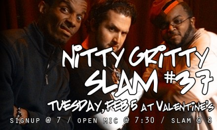 Nitty Gritty Slam #37 – The Points Are Not The Point, But They Do Count