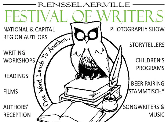 Writing Workshops at the Rensselaerville Festival of