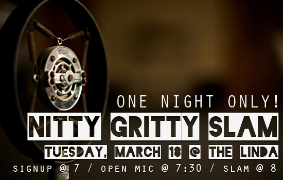 Nitty Gritty Slam #66 – The Final Open Slam Before the Semi-Final