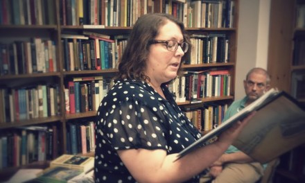 New Audio – Cheryl A. Rice at Half Moon Books – July 26, 2014