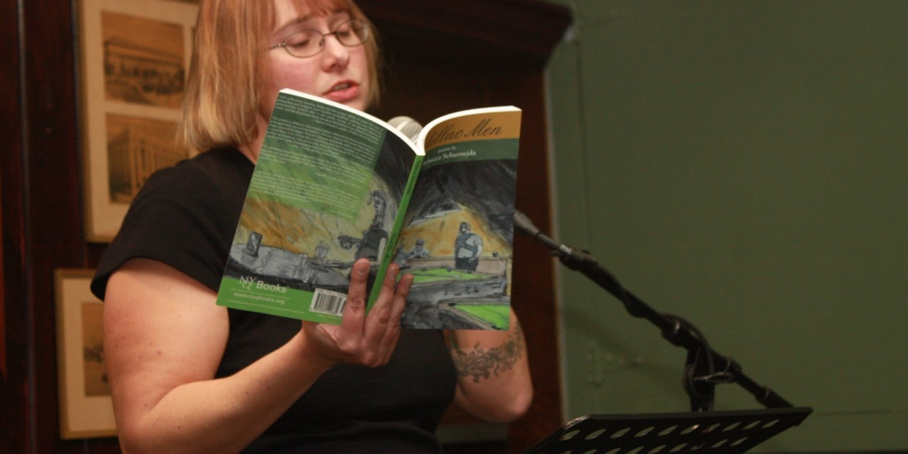 Poets Speak Loud Featuring Rebecca Schumejda