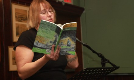 New Audio – Rebecca Schumejda at Half Moon Books – July 26, 2014