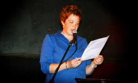 Throwback Audio – Carolee Bennett at Poets Speak Loud – February 22, 2010