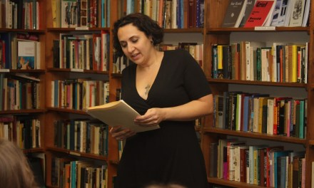 New Audio – Mary Panza at Half Moon Books – July 26, 2014