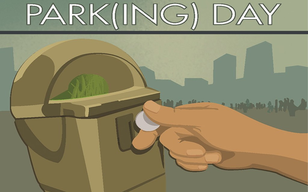 Albany Poets at PARK(ing) Day 2015