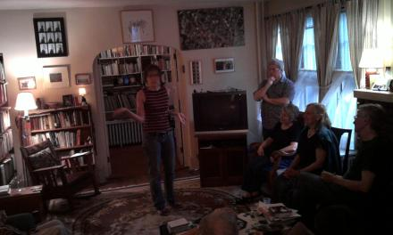 Throwback Audio – Michele Battiste at the Poetry Motel – May 22, 2009