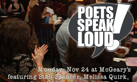 "Poets Speak Loud Featuring ""Pilot Light"""