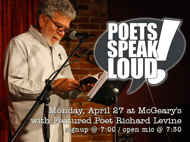 Poets Speak Loud Featuring Richard Levine