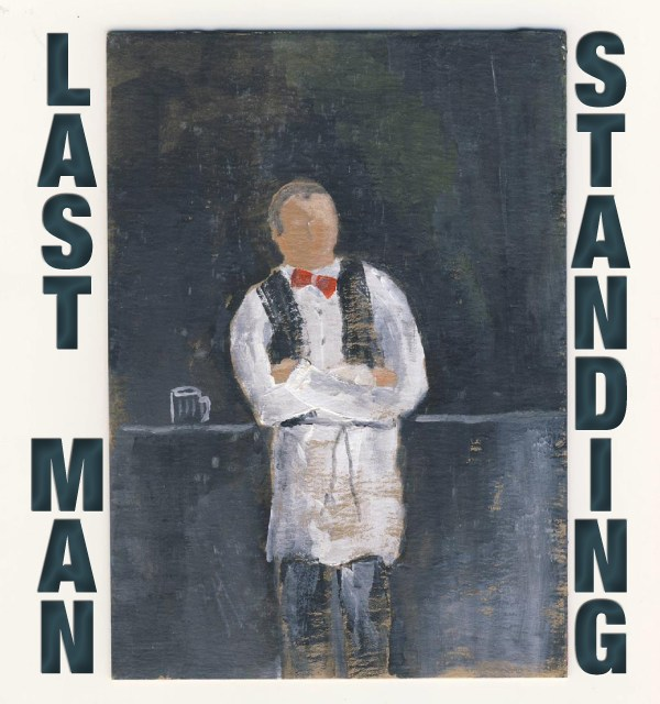 Alan Catlin's New Book of Poetry, Last Man Standing, Published