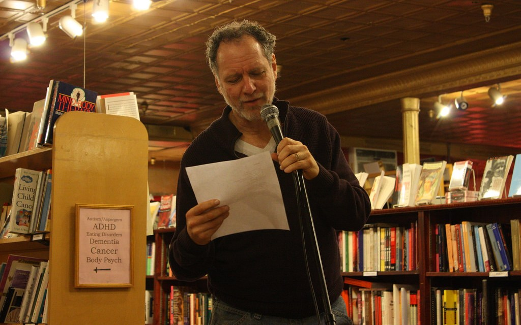 Word of Mouth Poetry Series Featuring Gary Siegel and Tony Pena