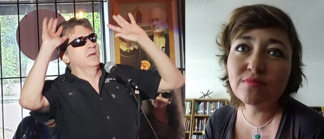 Woodstock Open Mic Poetry with John Burroughs and Jeanette Powers