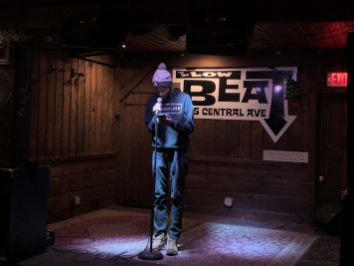 Ian Macks at Brass Tacks, January 7, 2020