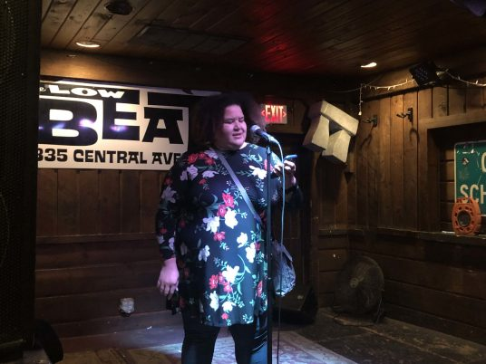 Kate Gillespie at Brass Tacks, January 7, 2020