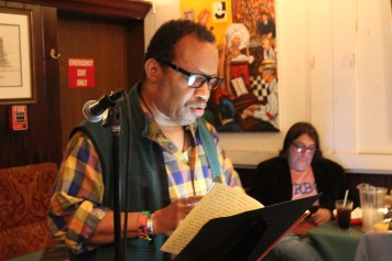 D. Alexander Holiday at Poets Speak Loud, September 30, 2019