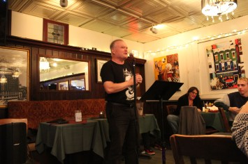 Glenn Cassidy at Poets Speak Loud, September 30, 2019