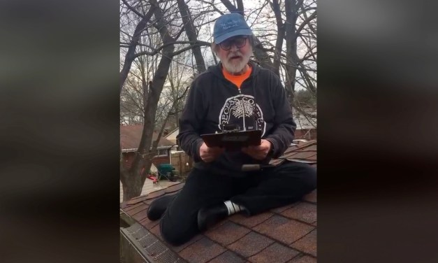 Poetry from the Roof by Tom Bonville