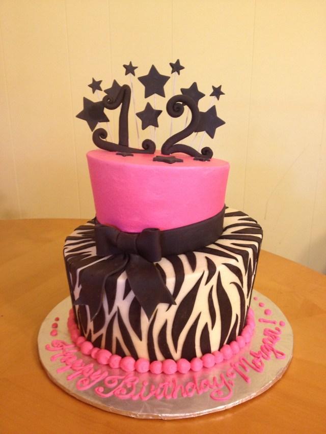 12Th Birthday Cake 12th Birthday Cake Main Made Custom Cakes