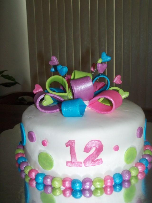 12Th Birthday Cake 12th Birthday Cakes
