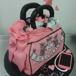 13 Birthday Cake Juicy Couture Girly Handbag 13th Birthday Cake Crumbs Cake Shop