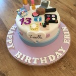 13 Birthday Cake Zoella Theme Birthday Cake For 13 Year Old Bday Party Pinterest