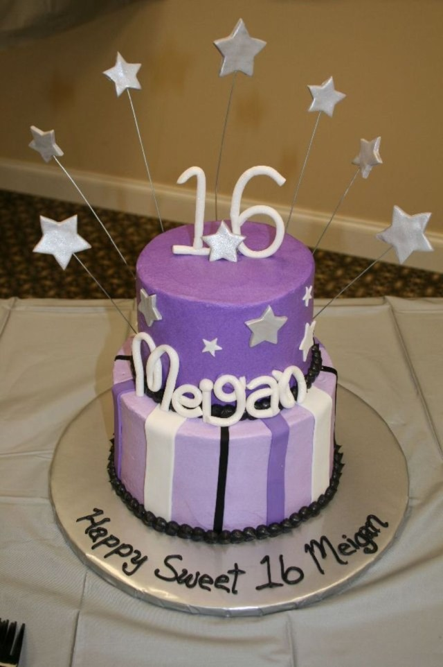 16 Birthday Cakes Sweet 16 Birthday Cake Cakecentral