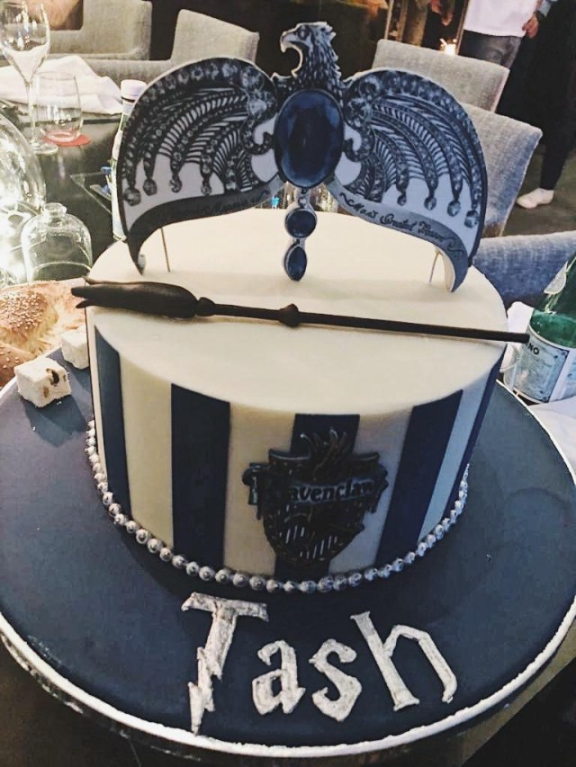 29Th Birthday Cake Thought My Fellow Ravenclaws Might Like To See My 29th Birthday Cake
