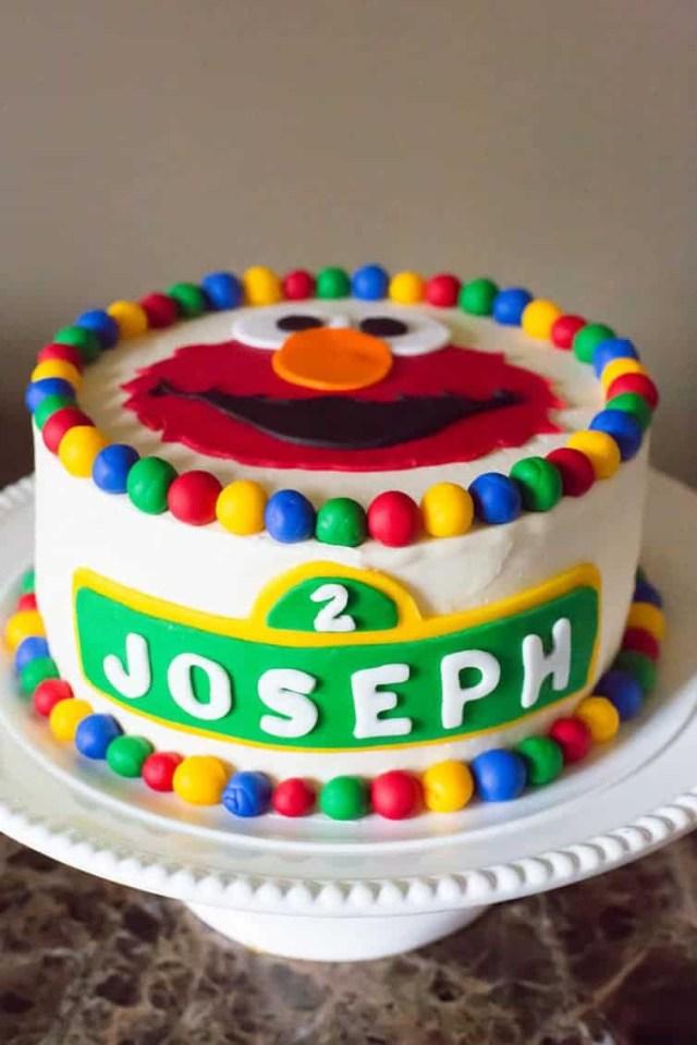 2Nd Birthday Cake Ideas Josephs 2nd Birthday Brown Eyed Baker