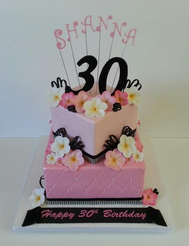 30Th Birthday Cake Ideas For Her My 30 Th Birthday Cake Cake Ideas Pinterest 30 Birthday