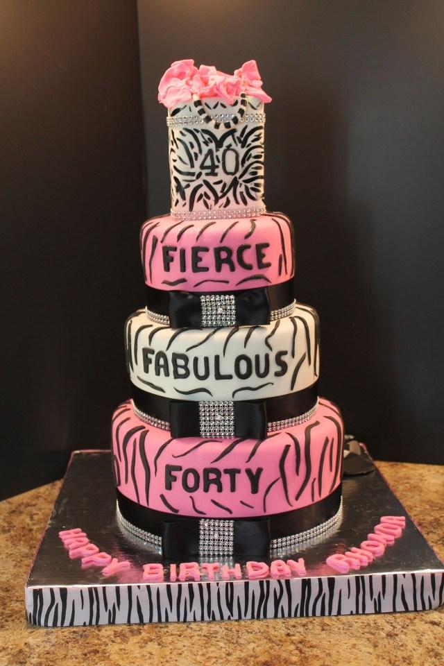 40Th Birthday Cake Ideas 40thbirthdaycake 40th Cakes 40 50